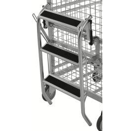 Kongamek opklapbare trap voor KM9000 etagewagen