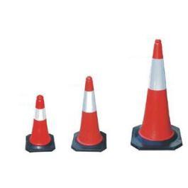 Rood-witte verkeerskegel - pylon