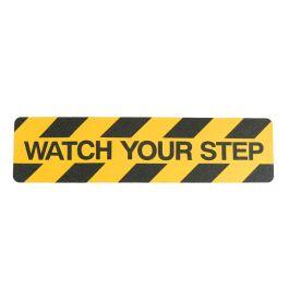 """Watch your step"" anti slip tape"