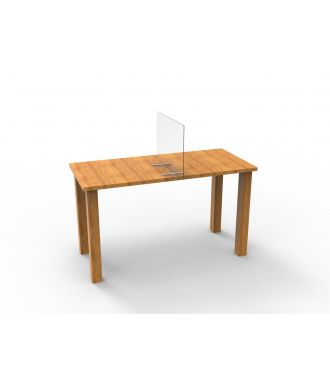 Scheidingswand plexiglas bureau