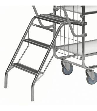Kongamek opklapbare trap voor KM8000 etagewagen