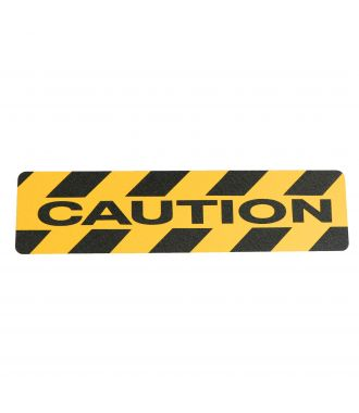 """Caution"" anti slip tape"