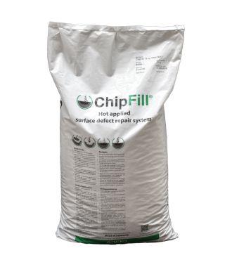 ChipFill thermoplastische asfaltreparatie