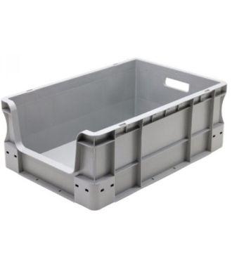 Stapelbak euronorm 400x600x230 mm met grijpopening
