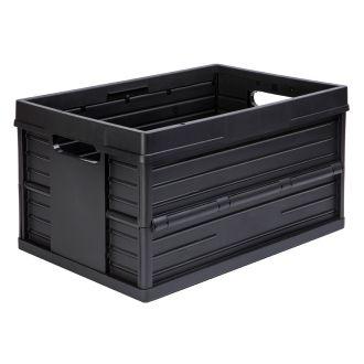 Evo Box vouwkrat 46 liter zwart