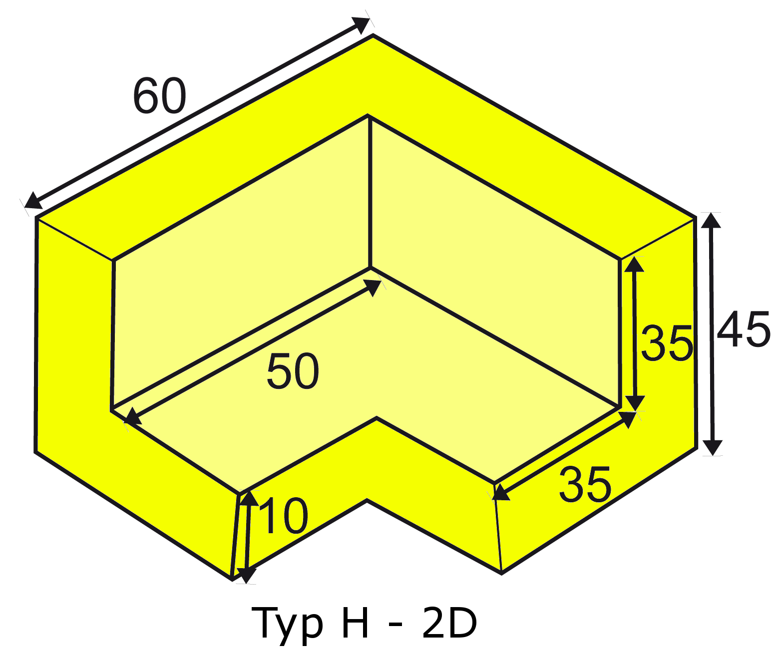 Knuffi multi-corner bumber H-2D type